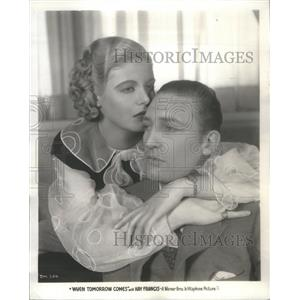 1934 Press Photo Jean Muir American Stage Movie Actress - RSC58497