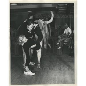 1935 Press Photo Margot Roche David Ahdar - RRW41729