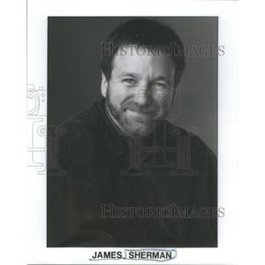 1977 Press Photo James Sherman is an artist known for his work in American comic