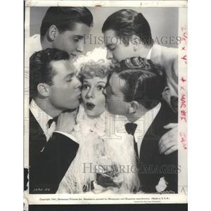 1941 Press Photo Mary Martin American Movie Actress Singer - RSC04649
