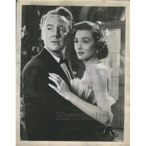 1953 Press Photo Van Johnson and Patricia Neal Star In Washington Story