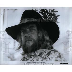 1970 Press Photo Donald Sutherland star Alex Wonderland - RRX51547