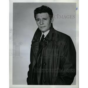 "1965 Press Photo Actor Harry Guardino ""The Reporter"" - RRW19465"