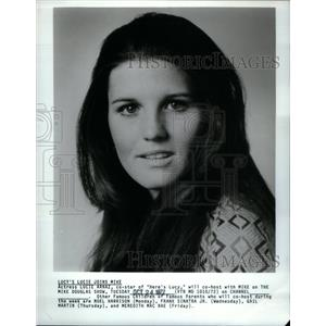 1972 Press Photo Actress Lucie Arnaz To Co-Host - RRX58599