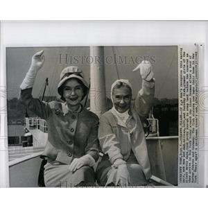 1962 Press Photo Lilian Dorothy Gish Silent Movies - RRW02925