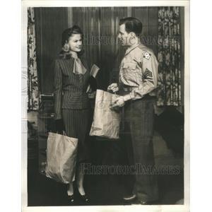 1945 Press Photo HUGH MARLOWE AMERICAN FILM TELEVISION STAGE RADIO ACTOR