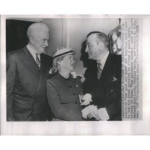 1957 Press Photo Herbert Rawlinson Pauline Garon Francine Bushman Film Tribute