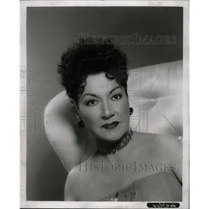 1958 Press Photo Ethel Merman/American Actress/Singer - RRW10017