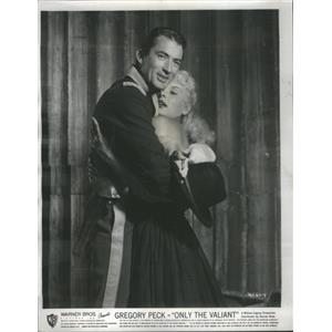 """1951 Press Photo Actor Gregory Peck in """"Only The Valiant."""" - RSC97257"""