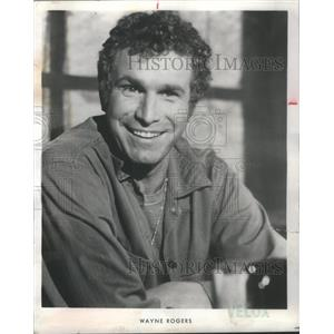 1974 Press Photo Wayne Rogers American TV and Film Actor. - RSC43815
