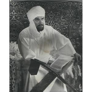"1966 Press Photo Sir Laurence Olivier in "" Khartoum"" - RSC89867"