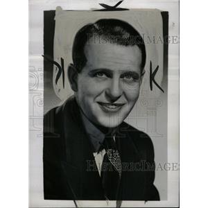 1951 Press Photo Ralph Bellamy American film artist - RRW74825