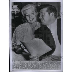 1956 Press Photo Gordon/Sheila MacRae/Actor/Singer - RRX33257