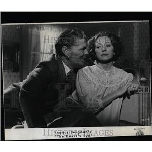 1962 Press Photo The Devils Eye Film Actors Bergman - RRW07549