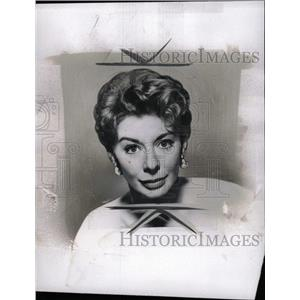 1961 Press Photo Geven Verdon (Actress) - RRW96741