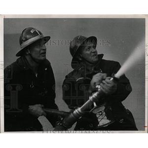 1966 Press Photo Fireman Jim Antonia Jack Lynch - RRW85993