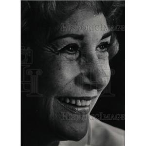 1969 Press Photo Arlene Francis American radio host - RRW16063