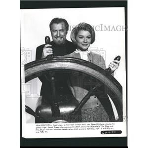 1969 Press Photo Hope Lange Carolyn Muir - RRW32763