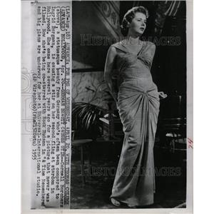 1955 Press Photo Actress Cornell Borchers - RRW18697