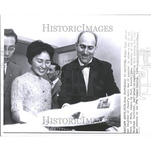 1959 Press Photo Kimie Tojo Youngest Daughter Robert - RRV53951