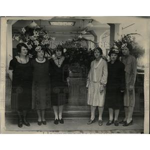 1927 Press Photo Piggly Wiggly girls Frances Graham Amy - RRX61737
