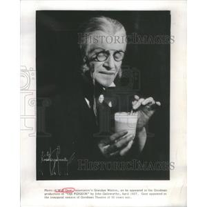 1927 Press Photo Will Geer American Actor and Social Activist- RSA98067