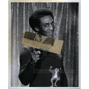1972 Press Photo Comedian Actor Entertainer Bill Cosby - RRX58451