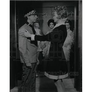 1969 Press Photo Comedy Actor Don Knotts & Anne Francis - RRW09533