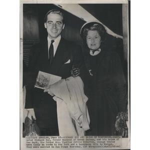 1949 Press Photo Richard Ney American Film Actor - RSC96249