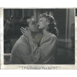 1940 Press Photo Diamonds Are Dangerous George Brent Isa Miranda Crime Film