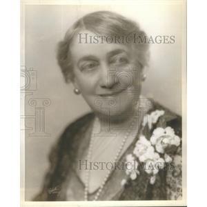 1930 Press Photo Mrs. Jacques Martin Actress - RSC02379