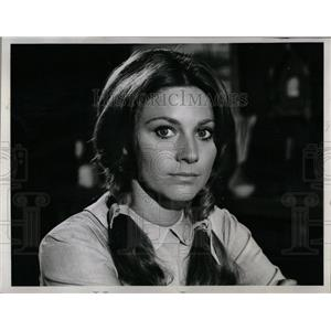 1969 Press Photo Jennifer Douglas Actress Lancer - RRW06375