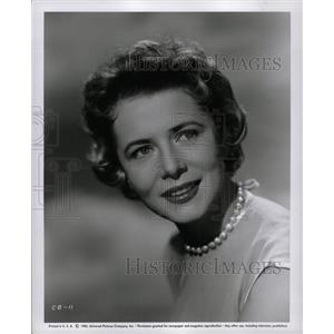 1955 Press Photo Cornell Borchers German actress - RRW18705