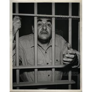 """1961 Press Photo Robert Middleton """"The Fingers of Fear"""" - RRW98953"""