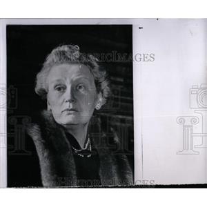 1962 Press Photo Lucile Watson Canadian Actress. - RRW70717