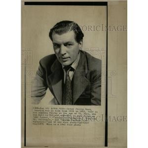 1975 Press Photo Philip Dorn Actor Dies 73 Los Angeles - RRW08713