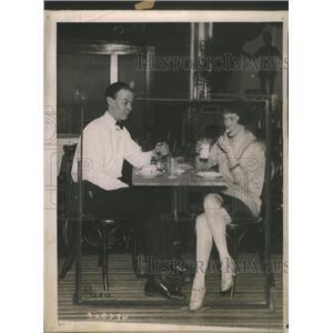 1922 Press Photo Peggy Marsh and Her Husband - RSC02807