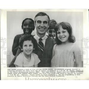 1979 Press Photo Fred Rogers Mister Rogers - RSC48359