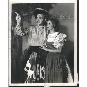 1948 Press Photo Patricia Northrop Midsummer Night Dream - RSC57641