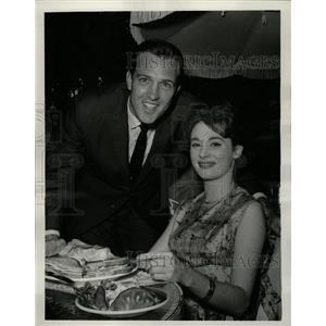 1962 Press Photo Jack Linkletter Sandra Church - RRW14703