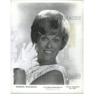 1965 Press Photo Roberta Sherwood Actress - RSC31459
