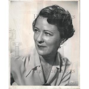 1950 Press Photo Margaret Webster actress producer - RRW51353