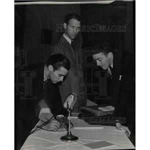 1938 Press Photo Coal Commission John Murdock - RRX64961