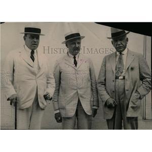 1922 Press Photo WL MacKenzie Henry Hilton Graham - RRW77983