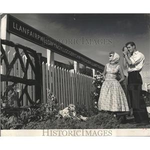 1958 Press Photo Henry VIII Tudors England Wales spring - RRX81315
