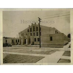 1939 Press Photo National Guard Armory Champaign - RRW61221