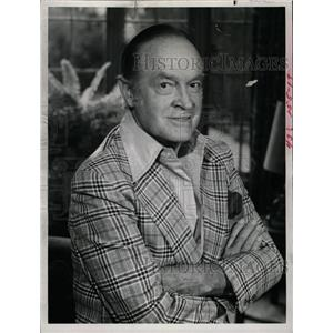 1980 Press Photo American Bob Hope US Armed Forces USO - RRW11265