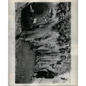 1962 Press Photo Partisans Red Cross forms Rezanok - RRX35691