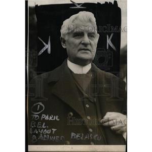 1924 Press Photo Belasco Theaters David New York Edly - RRW96829