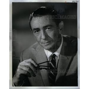 1965 Press Photo Macdonald Carey American Film Actor - RRX57313